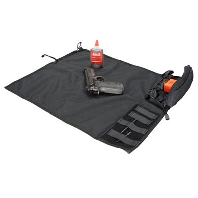 CON-218-BLK<br>Condor Roll-up Cleaning Mat, Black