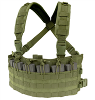 CON-MCR6-OG<br>Condor Rapid Assault Chest Rig, Olive Green