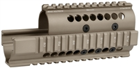MI-AK-S<br>Saiga Model 7.62x39 & 5.56mm AK47 Handguard - Flat Dark Earth