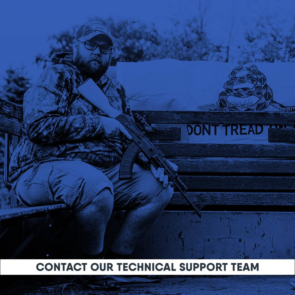 Contact Our Technical Support Team