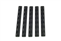 BCM-KMR-RP-BLK<br>BCM KeyMod 5.5-inch Rail Panel Kit, 5 pack, Black