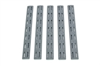 BCM-KMR-RP-WG<br>BCM KeyMod 5.5-inch Rail Panel Kit, 5 pack, Wolf Gray