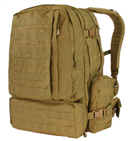 CON-125-FDE<br>Condor 3 Day Pack, Flat Dark Earth