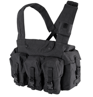 CON-CR7-BLK<br>Condor M4 7 Pocket Chest Rig, Black