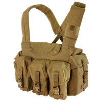 CON-CR7-CB<br>Condor M4 7 Pocket Chest Rig, Coyote Brown