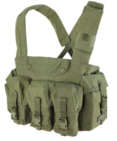 CON-CR7-OG<br>Condor M4 7 Pocket Chest Rig, Olive Green