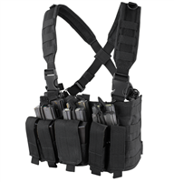 CON-MCR5-BLK<br>Condor Recon Chest Rig, Black