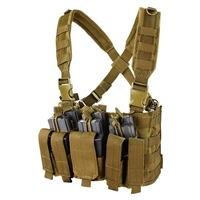 CON-MCR5-CB<br>Condor Recon Chest Rig, Coyote Brown