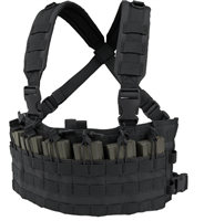 CON-MCR6-BLK<br>Condor Rapid Assault Chest Rig, Black