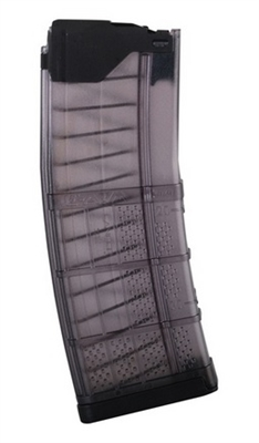 L5AWM30-TS<br>Lancer Systems L5 AWM Advanced Warfighter 30 Round Magazine -Translucent Smoke