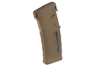 MAG556-MCT<br>Magpul PMAG 30 AR/M4 GEN M3, 30 rd 5.56x45 Windowed Mag Coyote Tan