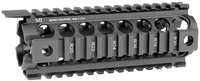 MCTAR-17G2-BLK <br> MI Gen2 Two Piece Drop-In Handguard, Carbine Length Black