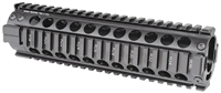 MCTAR-21-BLK<br>MI Two Piece Free Float Handguard, Mid-Length, Black