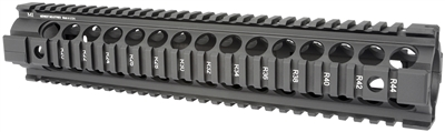 MCTAR-22G2-BLK<br> MI Gen2 Two Piece Free Float Handguard, Rifle Length - Black