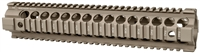 MCTAR-22G2-FDE<br> MI Gen2 Two Piece Free Float Handguard, Rifle Length - Flat Dark Earth