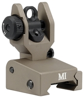 MCTAR-SPLP-FDE <br>Same Plane Low Profile Rear Sight - Flat Dark Earth