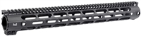 MI-308SS18-DHM <br> D.P.M.S. .308 One Piece Free Float Handguard, .210 Upper Tang, M-LOK(TM) compatible