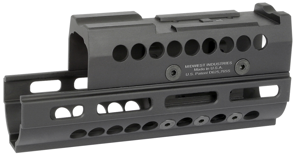 MI-AK-SS-Y70M-T1/VS AK Yugo M70 Rifle Handguard, M-LOK(TM) compatible with  T1/VS Optic Specific Topcover, black
