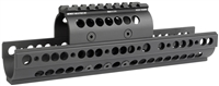MI-AK-SSX<br>MI Extended AK-SS Universal Handguard With Standard Topcover, black