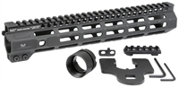 MI-CRM11.5<br> MI Combat Rail One Piece Free Float Handguard, M-LOK(TM) compatible