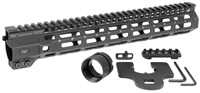 MI-CRM12.625<br> MI Combat Rail One Piece Free Float Handguard, M-LOK(TM) compatible