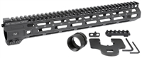 MI-CRM14<br> MI Combat Rail One Piece Free Float Handguard, M-LOK(TM) compatible