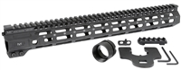 MI-CRM15<br> MI Combat Rail One Piece Free Float Handguard, M-LOK(TM) compatible