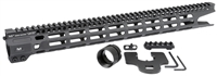 MI-CRM17XR<br> MI Combat Rail One Piece Free Float Handguard, M-LOK(TM) compatible