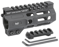 MI-CRM4.5<br> MI Combat Rail One Piece Free Float Handguard, M-LOK(TM) compatible
