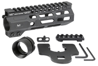 MI-CRM6.0<br> MI Combat Rail One Piece Free Float Handguard, M-LOK(TM) compatible