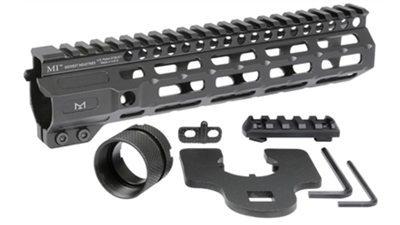MI-CRM9.25<br> MI Combat Rail One Piece Free Float Handguard, M-LOK(TM) compatible