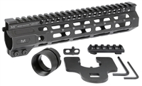 MI-CRM9.50<br> MI Combat Rail One Piece Free Float Handguard, M-LOK(TM) compatible