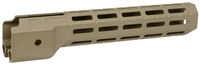 MI-CRPC9-FDE<br>MI M-Lok™ Hand Guard Compatible with Ruger® PC Carbine™ Cerakote FDE