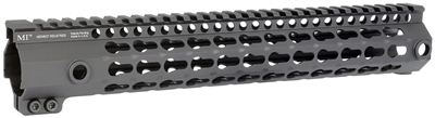 MI-G3K12-BLK <br> MI G3 K-Series One Piece Free Float KeyMod Handguard - Black