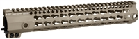 MI-G3K12-FDE <br> MI G3 K-Series One Piece Free Float KeyMod Handguard -Flat Dark Earth