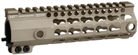 MI-G3K7-FDE <br>MI G3 K-Series One Piece Free Float KeyMod Handguard, 7.25 Inch Carbine - Flat Dark Earth
