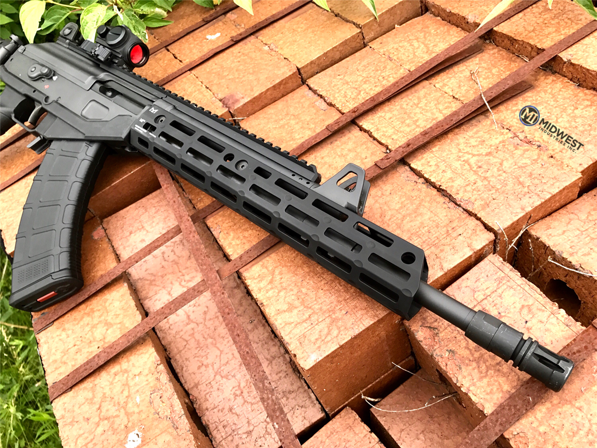 MI-GACEXR MI Galil Ace 7 62X39mm Extended Rifle Length Handguard, M-LOK(TM)  compatible