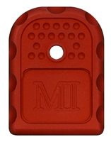 MI-GBP9/40-RED<br>Glock 9x19/40 cal Magazine Floor Plate<br>Red