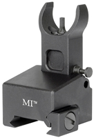MI-LFFG-BLK<br>Locking Low Profile Flip Front Sight for Gas Block-Black