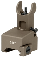 MI-LFFG-FDE<br>Locking Low Profile Flip Front Sight for gas block-Flat Dark Earth