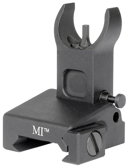 Midwest Industries Low Profile Flip Front Sight Locking Model MI-LFFR Black