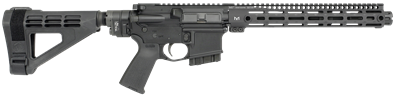 MI-PDW-5.56<br>MI 5.56mm Side Folding Pistol, 10.5 inch barrel with one piece free float MI Handguard, M-LOK(TM) compatible