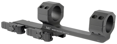 MI-QD1SM-X-BLK<br>MI QD 1.0-Inch Scope Mount with 2.80-in Offset-Black