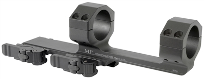 MI-QD30SM-X-BLK<br>MI 30MM QD Scope Mount with 2.80-in Offset-Black