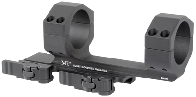 MI-QD35SM<br>MI 35MM QD Scope Mount with 1.4-in Offset-Black