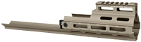 MI-S1617-M-FDE<br>MI SCAR Rail Extension, M-LOK(TM) compatible - Flat Dark Earth
