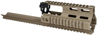 MI-S1617-SSR-FDE <br> MI SSR SCAR Rail Extension - Flat Dark Earth