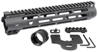 MI-SLH10.5 <br> MI Slim Line One Piece Free Float Handguard, M-LOK(TM) compatible