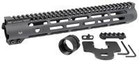 MI-SLH12.625 <br> MI Slim Line One Piece Free Float Handguard, M-LOK(TM) compatible