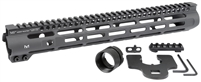 MI-SLH14 <br> MI Slim Line One Piece Free Float Handguard, M-LOK(TM) compatible